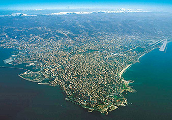 Beirut - Aerial View