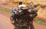 Cameroonian okada rider